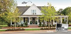 Look at this remodeled home by Southern Living Magazine