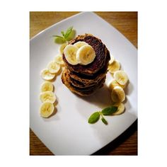 """#FoodbyAnn """" Niebo w gębie"""" Przepyszne placki z bananów, przepis na blogu. Idealne na II śniadanie, łatwe, smaczne i bezglutenu  Delicious panckaes already on my blog. Ideal for lunch, easy, tasty and gluten free #recpie #blog #healthyplanbyann #pancakes #bananas #AnnaLewandowska #easy"""
