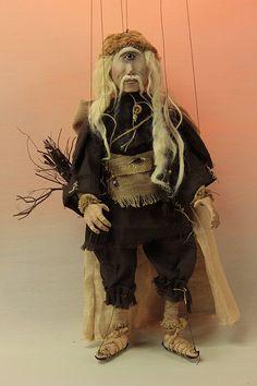 marionette Ciclope marioneta puppet OOAK artdoll títere: Amazon.es: Handmade