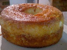 Receita de Bolo Pudim de l ll My Recipes, Sweet Recipes, Cake Recipes, Dessert Recipes, Cooking Recipes, Portuguese Desserts, Portuguese Recipes, Portuguese Food, My Favorite Food