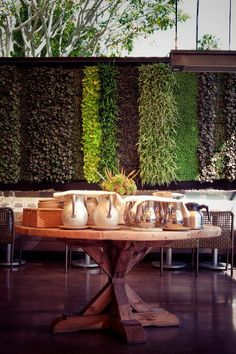 Living wall - Must Have somewhere inside or outside the space.