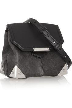 Alexander Wang Marion leather shoulder bag NET-A-PORTER.COM
