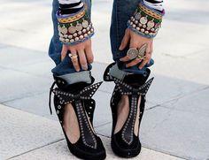Madame de Rosa - shoes <3