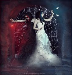 Gothic Angel, Gothic Fairy, Gothic Fantasy Art, Fantasy Images, Anime Angel Girl, Dark Wings, Beautiful Dark Art, Vampire Art, Arte Obscura