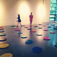 Sisters - work by Carley F. Smith. Part of the MFA art show. Photo by Emily Ellis.