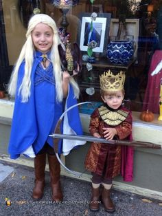 Mini Daenerys Targareon and Joffrey Baratheon