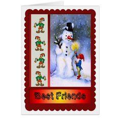 Best friends Forever and for Christmas! Card