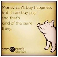 Raising show pigs with my family...this is so truthful!