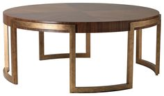 VALENCIA coffee table Paint finish with timber top 1200dia x 450 mm h www.decorusfurniture.co.uk