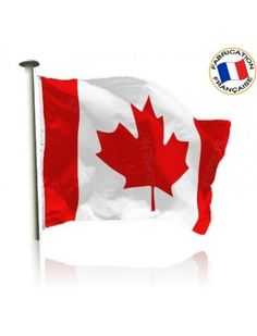 Drapeau Canada Made In France by Manufêtes