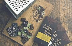 Chocolates with hemp taste
