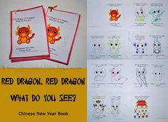 Free Printable Chinese Zodiac Coloring Book for kids