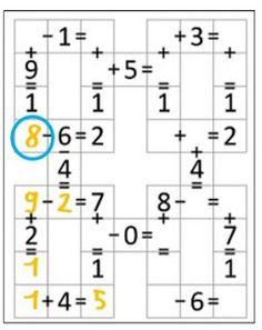 Remue Méninge: Garam : jeu de logique mathématique, cycle 2 et 3