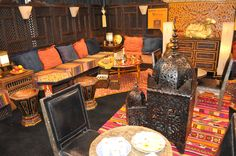 Hand Carved ornate Moroccan Furniture!  How beautiful!