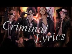 Nightcore - Criminal [Male Version] - YouTube