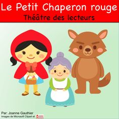 This is a Readers' Theatre script for Little Red Riding Hood in French. French Teaching Resources, Primary Teaching, Teaching French, Teaching Tools, Little Red Riding, Red Riding Hood, Reading Lessons, Lessons For Kids, French Language Classes