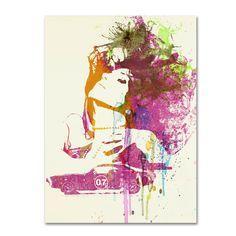 Trademark Fine Art Naxart 'Challenger Girl' Canvas Art