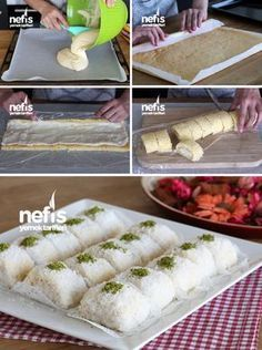 Food and drink dessert Turkish Delight, Turkish Recipes, Ethnic Recipes, Turkish Sweets, Wie Macht Man, Pastry Cake, Iftar, Ice Cream Recipes, Dessert Recipes