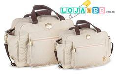 Bolsas para bebês e kit maternidade Infant Bege. www.lojadobb.com.br