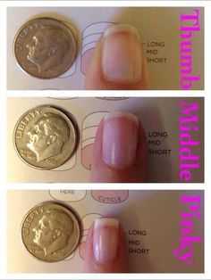 Image result for jamberry white tip sizing