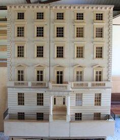 Bespoke Regency dolls house Eaton Square.