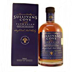 Sullivans Cove French Oak Cask Matured Tasmanian Single Malt Whisky 47.5% 70cl Worlds Best Single Malt at the World Whiskies Awards 2014