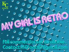 my-girl-is-retro-font