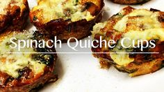 How to make Spinach Quiche Cups. This is a quick and simple way of making the most delicious vegetarian meal you've ever tasted. https://www.youtube.com/watch?v=288qeMQ1uC0 Please click on the link for instructions on how to cook this recipe, which is located in the description. If you like this PLEASE SUBSCRIBE for more delicious recipes. :)