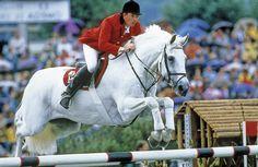 Milton, with John Whitaker.     Always my favourite show jumper.
