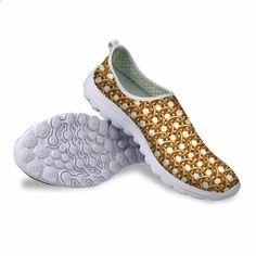 a9c8f070 Noisydesigns कैप्स प्रिंट महिला फैशन सांस लेने योग्य जूते प्लेटफार्म उच्च  गुणवत्ता जूता ...