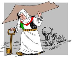 The Nakba...the exile of Mother Palestine