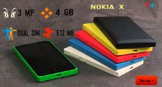 Wonder is nothing but NOKIA X.Feel the experience with smooth touch now buy @ http://dailyzingzing.com/products/nokia-x