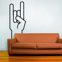 rock on! vinyl wall decal