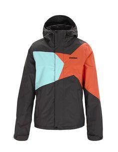 ZANIA   Women's Snow Jacket   Fall / Winter Collection 2012 / 2013   www.zimtstern.com   #zimtstern #fall #winter #collection #womens #snow #jacket #snowjacket #snowwear #wear #clothing #apparel #fabric #textile