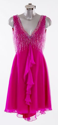 As worn by Sunetra Sarker on the Strictly Come Dancing 2014 Launch Show Designed by Vicky Gill and produced by DSI London