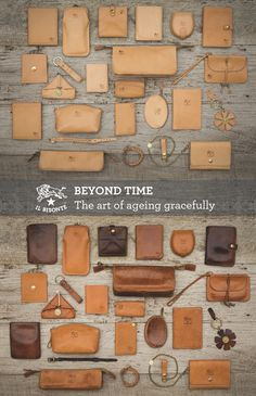 IL BISONTE  Beyond Time - The art of ageing gracefully    With the passing of time and depending on how the IL BISONTE object is uniquely used, cowhide will steer towards warmer shades, similar to a golden patina.  Leather changes in time with us, almost like a second skin, making our life its own.