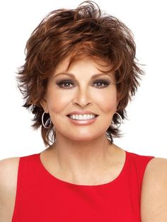 Layered Hairstyles Women Over 50 | Entice by Raquel Welch: Color R32/31 - Cinnabar (Rich Chestnut with ...