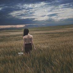 """Brave The Shadows"" Copyright Micahla Latta www.facebook.com/FoxandFlux"