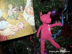 Дома и на улице!: Наш Розовый Поросенок