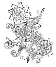 mehndi designs prints - Google Search