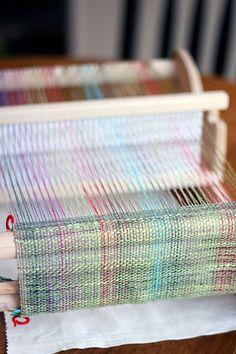 weaving with Noro Yarn
