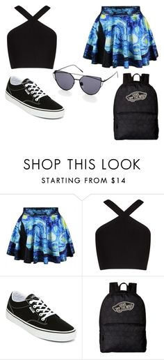 """Fangirl"" by emmylong04 on Polyvore featuring BCBGMAXAZRIA and Vans"