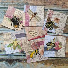 Glue Book, Collage Art, Collages, Artist Trading Cards, Felt Hearts, Art Journal Inspiration, Creative Cards, Hobbies And Crafts, Junk Journal