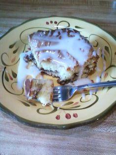 Amish Honey Bun Cake