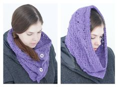 knot•sew•cute design shop: new crochet pattern - cables & lattice cowl by tara schreyer.