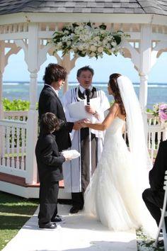 Ceremony at Gazebo