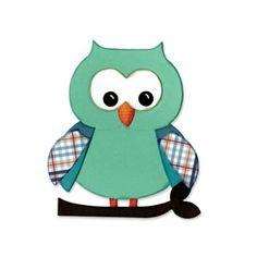 Sizzix Bigz Die L. Whitlock Owl #5