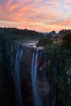 Magwa Falls, Pondoland, South Africa
