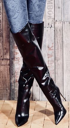 42 High Knee Boots For College Women Shoes Styles & Design - Leather Boots - Ideas of Leather Boots - 42 High Knee Boots For College Women Shoes Styles & Design Thigh High Boots Heels, Stiletto Boots, Heeled Boots, High Heels, Sexy Boots, Black Boots, Ladies Long Boots, Over The Knee Boots, Fashion Boots