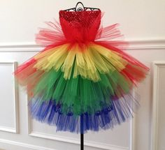 Hey, I found this really awesome Etsy listing at https://www.etsy.com/listing/205057345/parrot-tutu-costume-dress